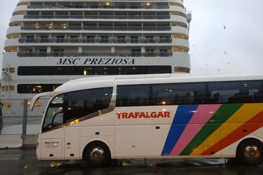 visita MSC preziosa porto di Genova